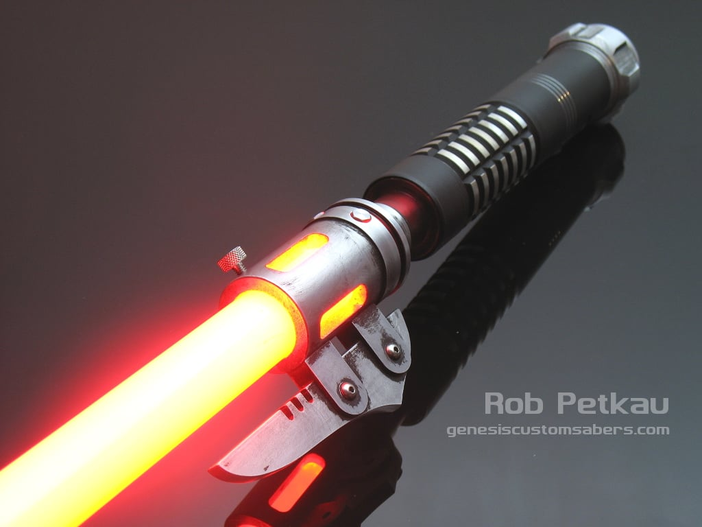 Lightsaber With A Bayonet 171 Genesis Custom Sabers